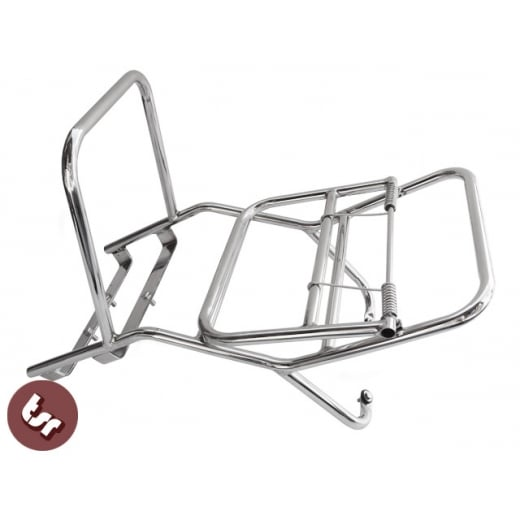 VESPA Stainless Steel Madrid Rear Rack Luggage Carrier Sprint/Super/VBB/Rally/GL