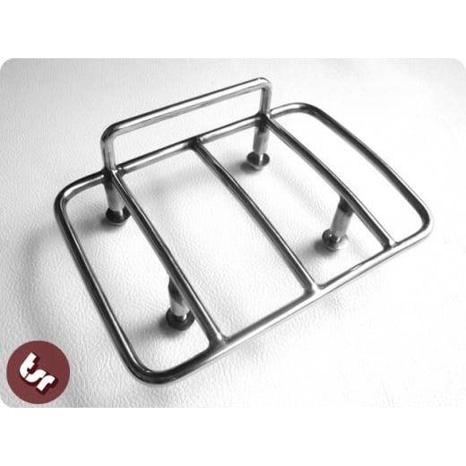 Vespa Stainless Steel Rear Frame Sprint Rack Carrier