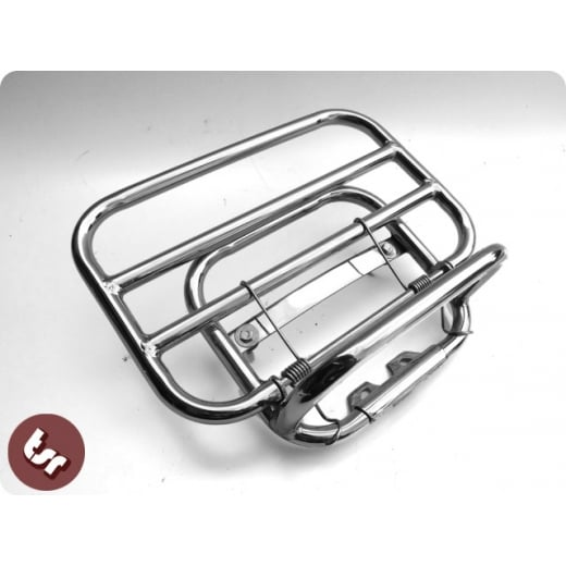VESPA Stainless Steel Rear Rack Luggage Carrier LX & LXV 50/125/150