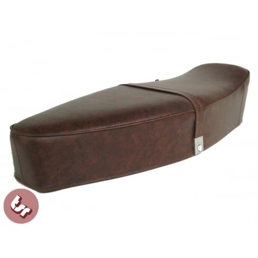 Brilliant Vespa Tsr Bench Dual Bench Seat Vintage Brown Px Lml Vbb Ncnpc Chair Design For Home Ncnpcorg
