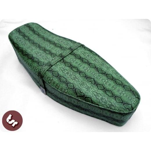 VESPA TSR Bench Dual Seat Green Snake skin PX/LML/VBB