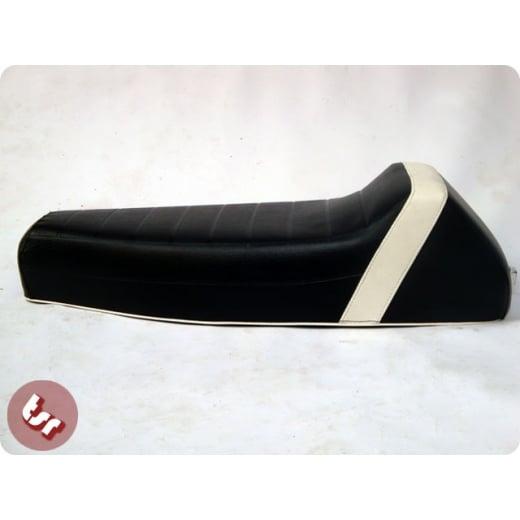 VESPA TSR Corsa Seat Black/White PX/LML/VBB/VBC/VLB