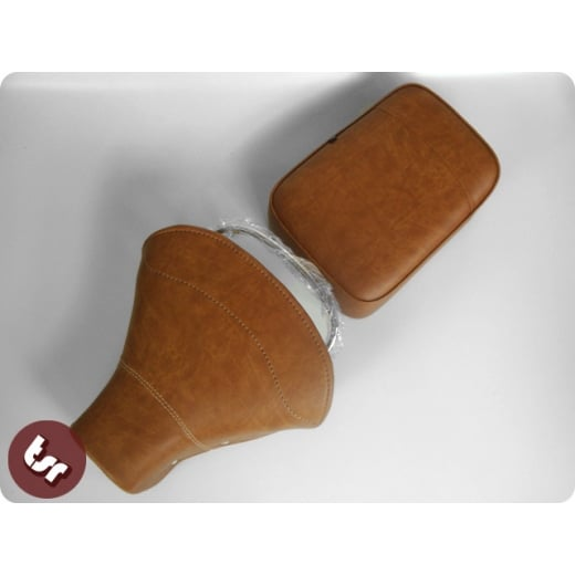 VESPA TSR Front Saddle Rear Seat Set Vintage Brown PX/VBB/VLB