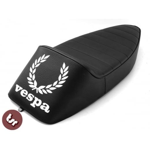 Black 125//150//200 P200 P125X EFL//DISC VESPA TSR Zero Cafe Racer Seat PX//T5//LML