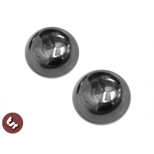 VESPA Wheel Hub Centre Caps X2 Stainless Steel- VBC